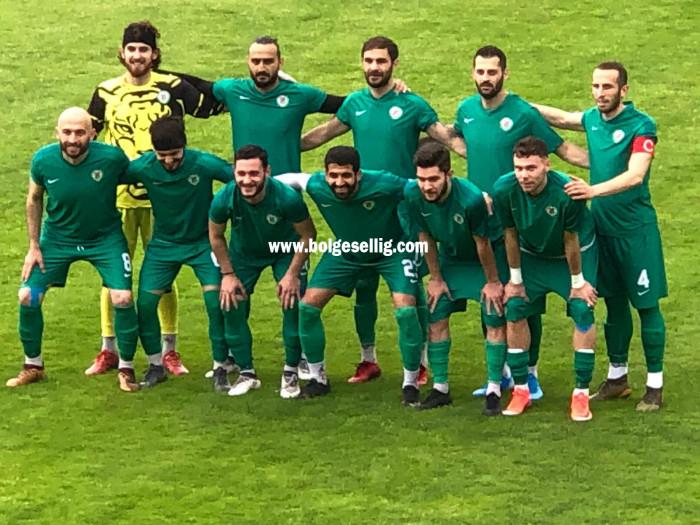 Sapancaspor Gebzespor Hazırlık Maçında Sapancaspor'dan Fatih Gümüşel'in Attığı Gol